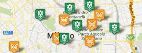 Segna la tua Oasi sulla mappa della città